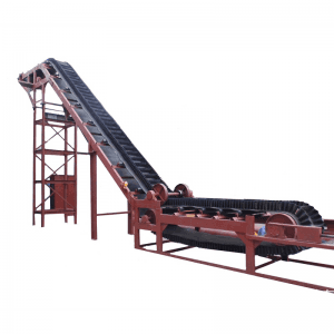Steeply Inclined Belt Conveyor