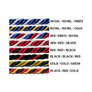 Wholesale Intertwined honor cords for graduation