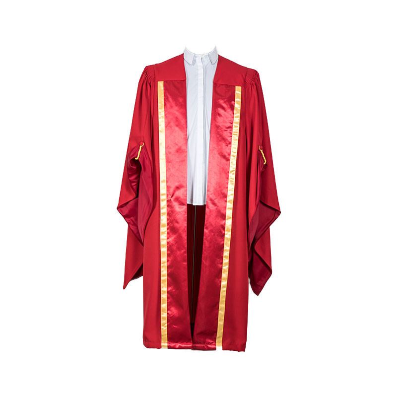 Custom UK style doctoral gown Featured Image
