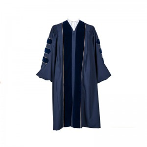 Deluxe Fluted Doctoral Gown