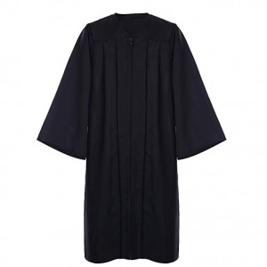 Low MOQ for Wholesale Best quality Adult Matte Graduation Gowns and Caps For School
