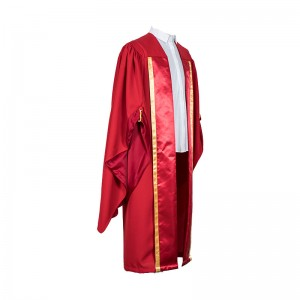 Custom UK style doctoral gown