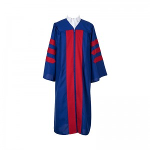 Non Fluted Doctoral Gown