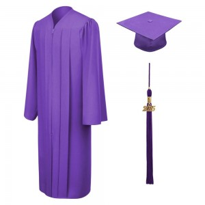 Bachelor Graduation Gown & Cap Matte