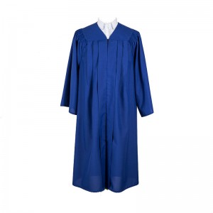 Hot sell Navy Matte graduation gown