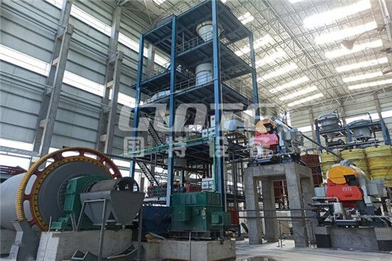 Xinjiang customer's pickling equipment and glass sand wet production line have been installed
