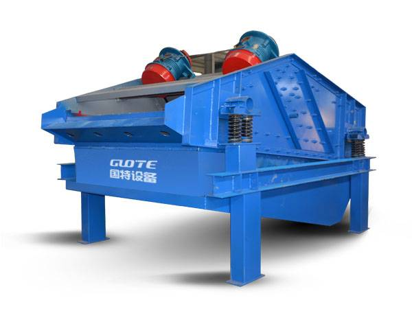 GTTS high frequency mining linear sand dewatering vibrating screen machine Featured Image