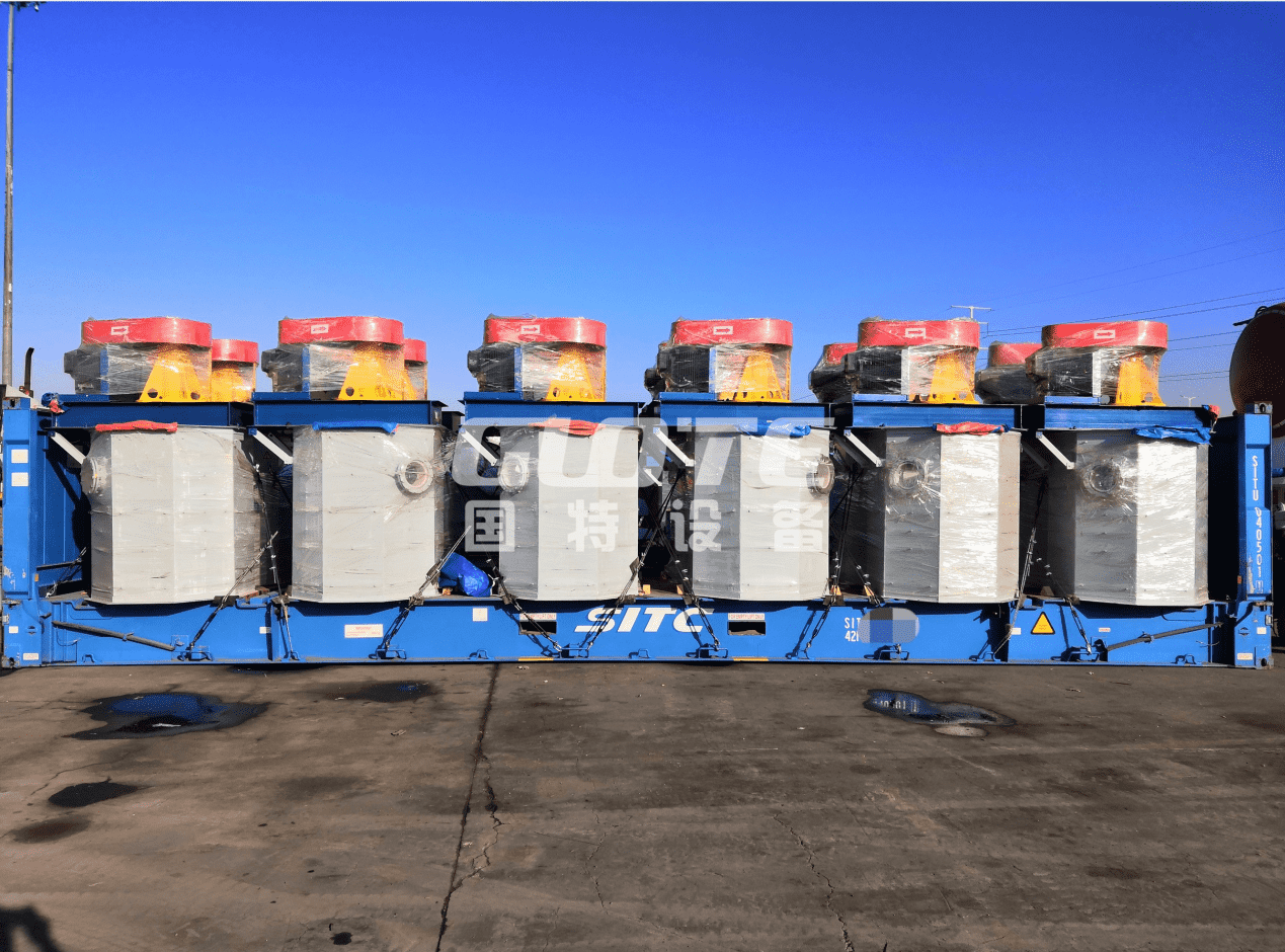 18 set of scrubbing machines have been shipped to Korea
