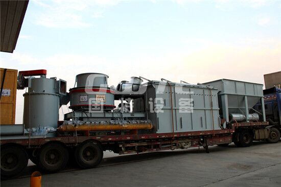 A set of vertical sand making machine and pulse bag filter has been shipped from Vietnam