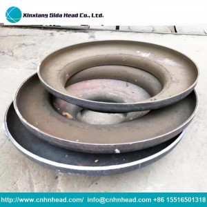 Steel Dish Pipe End Cap