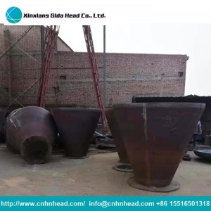 Metal Conical Steel Tube Head