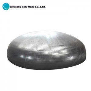 Stainless Steel Elliptical Dished Head For LNG