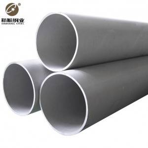China Supplier Stainless Steel Welded Pipe -