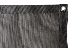 8′X15'3″ Zip Blocker Mesh Screen Sunshade
