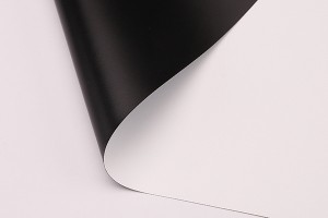 White-Black Projection Film