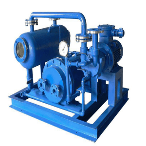 Water-ring vacuum pump close circuit system