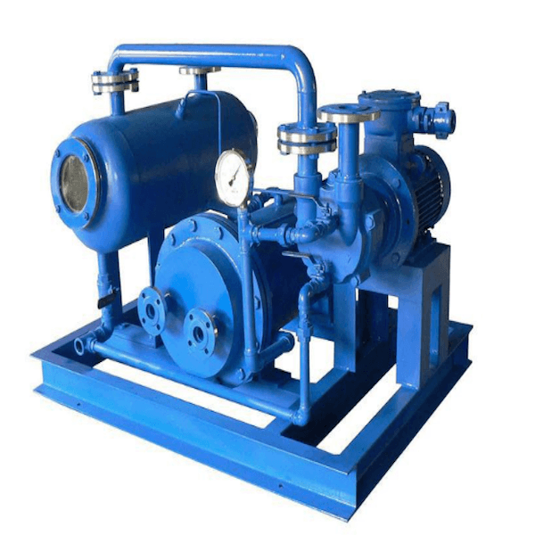 Water-ring vacuum pump close circuit system Featured Image