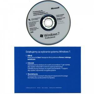 Windows 7 Pro OEM polonais