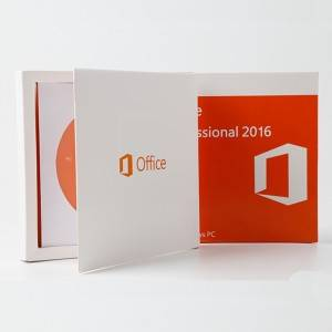Factory source Original Microsoft Office 2016 Pro  Retail Product Key Card For 1 Pc Full Version