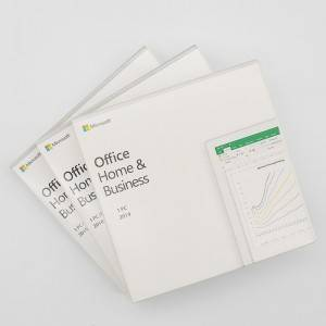 MS Office Home and business 2019 Word Excel Power outlook Lifetime Licence