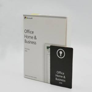 Microsoft Office 2019 Home and Business Full Version Key with Retail DVD for 1PC