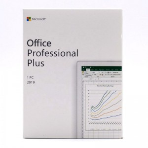 Microsoft Office 2019 Professional Plus Genuine Retail License Key  PKC Box Available