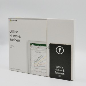 Genuine Microsoft Office Home And Business 2019 – Box Pack – 1 Pc/Mac – Made in Ireland/Puerto Rico/Turkey