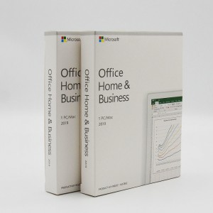 NEW Microsoft Office 2019 Home and Business 1 User, 1 Device/Mac Retail PKC