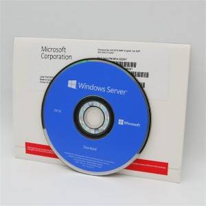 Windows Server 2019 Standard with DVD Sealed Box – RDS 50 USER/ DEVICE CAL