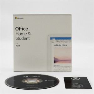 Microsoft Office Home and Student 2019 PC (1-User License, Product Key Code)