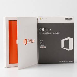 Office 2016 Home and Business Microsoft Software Product Key For Mac