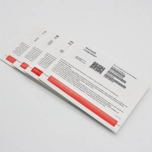 100% Original MS Windows Home OEM sticker for PC Multilingual license