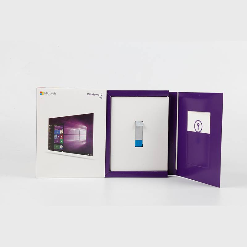 Reasonable price Windows 10 Home Product Key - Microsoft Windows 10 Pro FPP English USB 3.0 Full Version Windows 10 Pro USB Retail Box – Newtown detail pictures