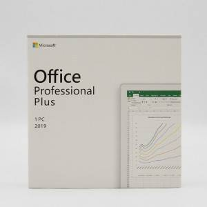 MS Office 2019 Professional Plus Brand New – Full Version – 1 PC Multi-language