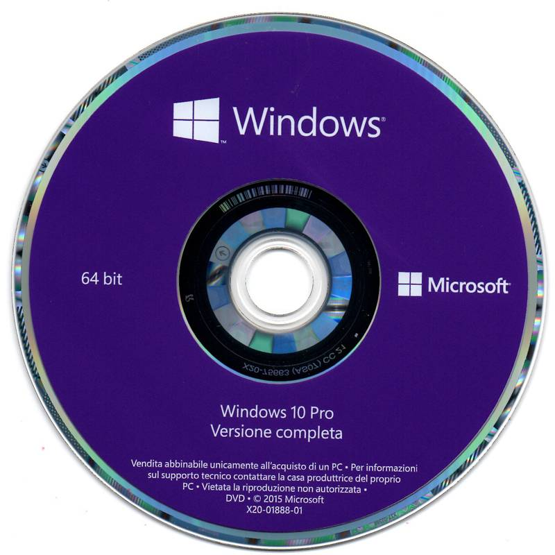 Factory selling Microsoft Software -  Microsoft Win 10 Pro Italian OEM Version 1709 installation Pack Windows 10 Pro Italian OEM – Newtown