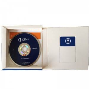 Professional Microsoft Office 2013 Pro Plus DVD With Key Card