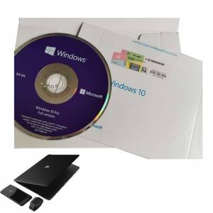 Eng 1pk DSP DVD Original Software Windows 10 Pro OEM Sticker Packaging 64bit
