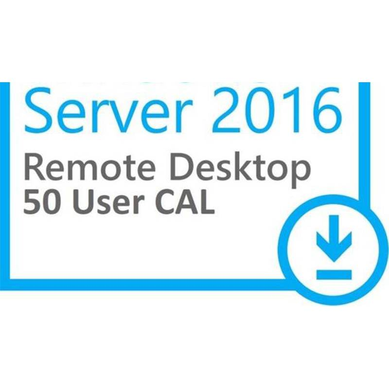 Wholesale Dealers of Computer Software - MS Win Server 2016 Remote Desktop Services RDS 50 User CAL – Newtown