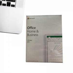 Multi Language Office 2019 Home and Business DVD*1 for Windows/Mac