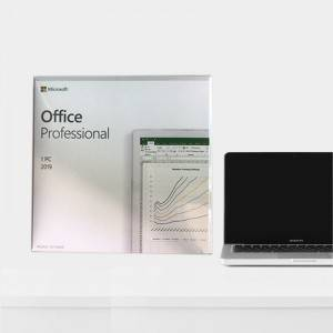 Office Professional 2019 Download & Genuine Key Product Multilingual