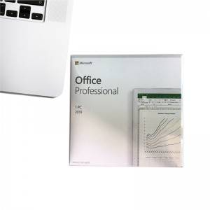 Office 2019 Professional Retail BOX Online Activate Multilingual Version