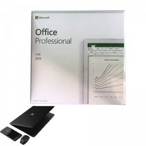 Full Version Office 2019 Professional FPP PackageDVD*1 Online Activate