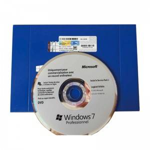 100% Original Windows 7 Professional Pro OEM