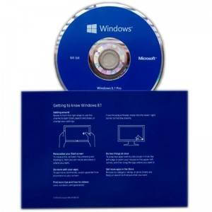Microsoft Windows 8.1 Pro OEM Sticker Genuine 1pk DSP DVD French