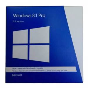 La versione completa 100% originale di Windows 8.1 Pro FPP pacchetto Multi Language