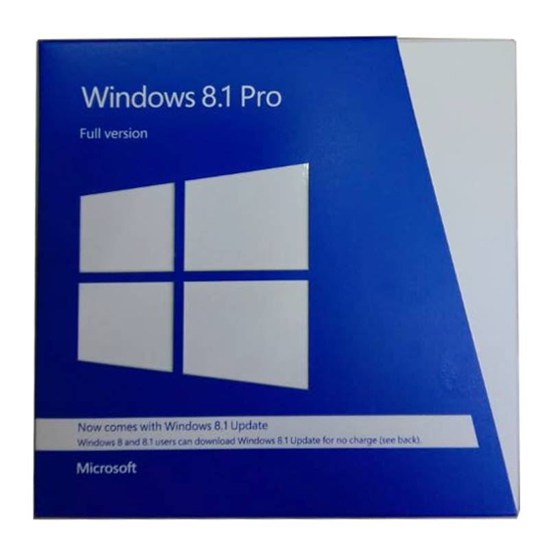 Factory Free sample Custom Oem Production Pc - Full Version 100% Original Windows 8.1 Pro FPP Pack Multi Language – Newtown detail pictures
