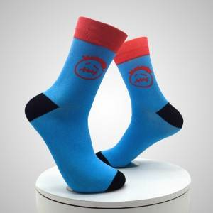Factory Directly Supply Custom logo sublimation Men 3d Printed Socks