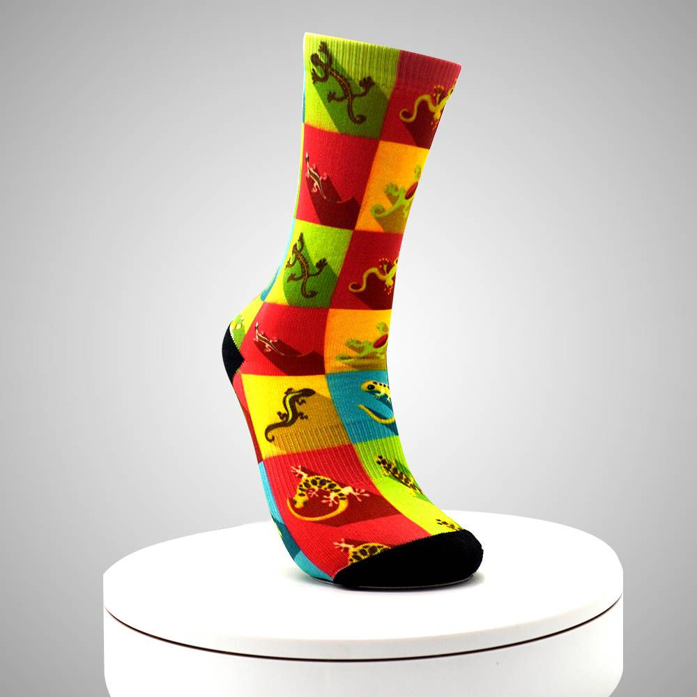 Cheap Dye Sublimated Men Custom Print Ankle Socks Featured Image