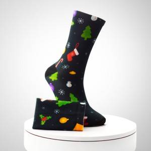 Wholesale 3D sublimation printed mens printed ankle photo print socks