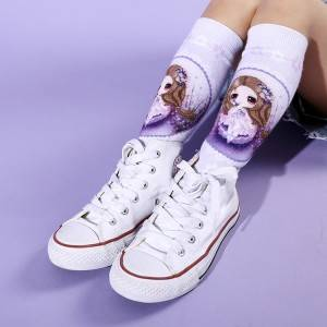 Fashion kids DIGITAL PRINTED SOCKS